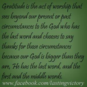 LV-Gratitude